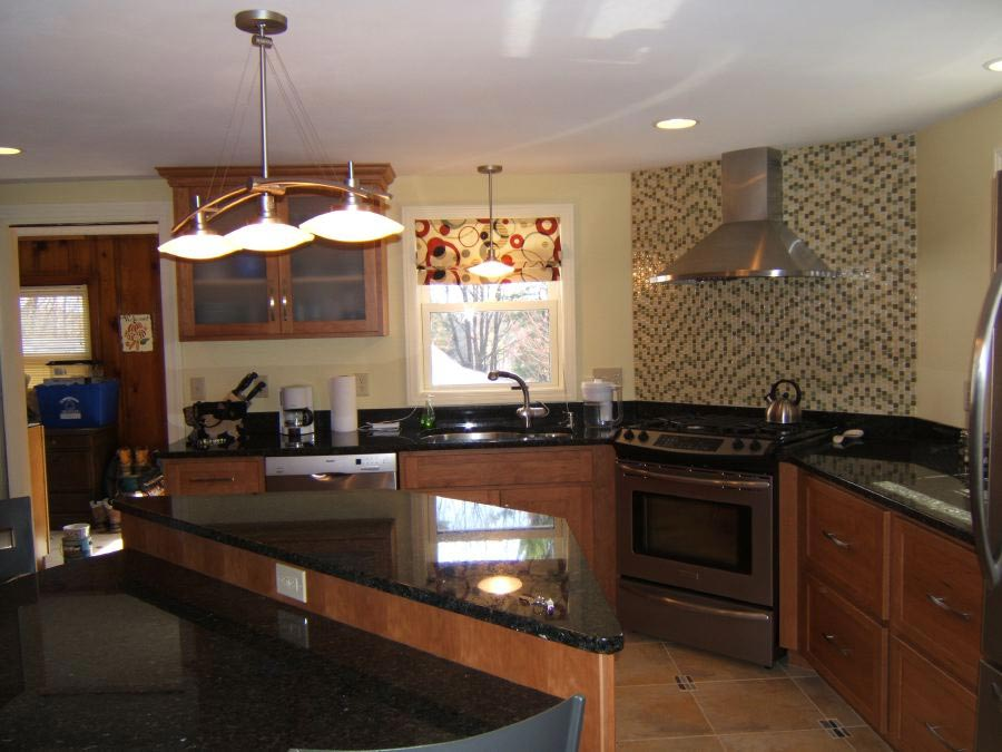 good Kitchen Remodel Increase Home Value #9: Kitchen in Manchester NH